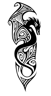 the symbolic dragon tattoos 497 best dessins tribal images on pinterest drawings dragon