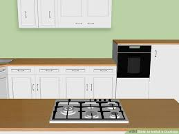 How To Install A Kitchen Countertop by 3 Ways To Install A Cooktop Wikihow
