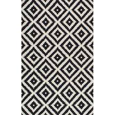 Modern Black And White Rug Contemporary Black And White Rugs In Plans 12
