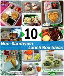 10 non sandwich lunch ideas