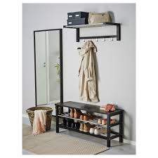ideas ikea shoe bench bench with storage baskets entryway