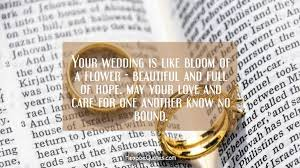 wedding wishes la your wedding is like bloom of a flower beautiful and of
