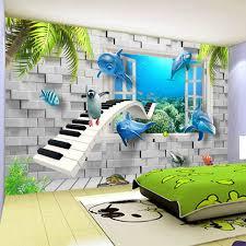 wallpapers for kids bedroom hd modern creative underwater world children s room 3d mural