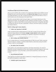 Best Resume Profile Statements by Sample Career Objectives Examples For Resumes Resume Physical