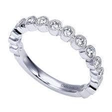 set diamond gabriel an7959 s bezel set diamond wedding band freedman