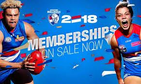 join us for the 2018 season westernbulldogs com au