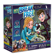 amazon com yulu spy code break free 2 4 player toys u0026 games