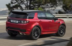 black land rover discovery 2017 land rover discovery sport gets new hse dynamic lux for frankfurt
