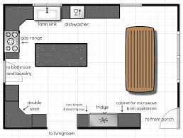 kitchen floor plans homepeek