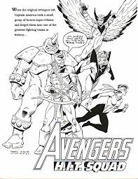 coloring pages of the avengers karl kesel busiek com