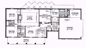 ranch style house floor plans 100 house plans 1800 sq ft wide corridor plan plot area square