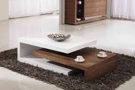 stylish living room table ideas with modern coffee table