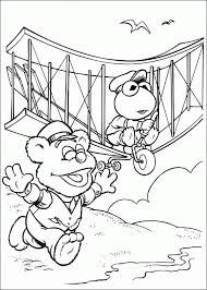 coloring muppets baby coloring pages 17