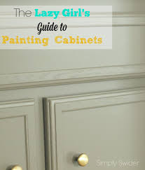 How To Paint Wood Cabinets Without Sanding by How To Transform Your Cabinets Without Priming And Tons Of Sanding