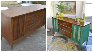 Midcentury Modern Sideboard Heir And Space A Midcentury Modern Sideboard In Green