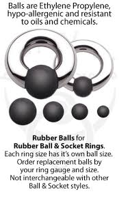 ball rubber rings images Replacement rubber balls for rubber ball and socket rings body jpg