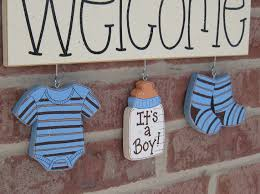 Welcome Home Decor Welcome Its A Boy Decorations No Sign Included For