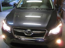 subaru crosstrek grill subaru xv crosstrek headlights photo on automoblog net