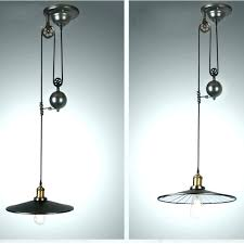 pulley pendant light fixtures pulley pendant light fixture large size black iron painted creative