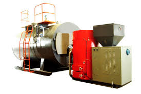 Pellet Burner Horizontal Biomass Pellet Boiler