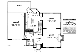 early colonial house plans