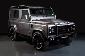 land rover defender 2017 land rover defender gets tricked out by urban truck autoevolution