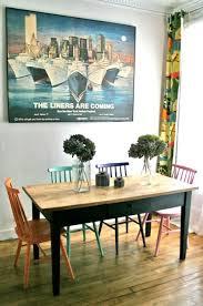 relooker table de cuisine idée relooking cuisine table de ferme ancienne à retrouver sur