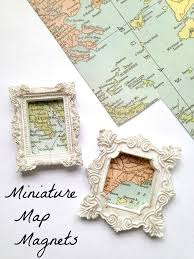 Craft Ideas For Home Decor Best 25 Map Crafts Ideas On Pinterest Map Anniversary Gift Old