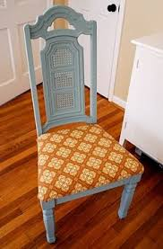 Diy Armchair Recovering Dining Chairs Is Easier Than You Think Re Cover Your