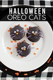 halloween oreo cookie cats