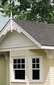 exterior gable trim interior design