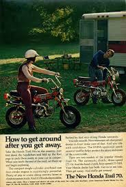 nostalgic wednesday honda mini trail ct70 mayday garage