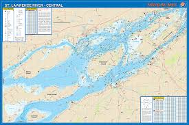 st islands map st river central 1000 islands howe is to wellesley is