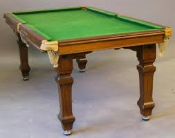 quarter size pool table an e j riley ltd accrington mahogany quarter size snooker dining