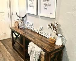Unique Foyer Tables Entryway Table Etsy
