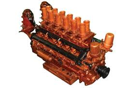 ferrari engine sold model engine ferrari v12 engine handcrafted from wood