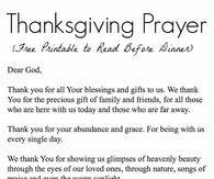 simple thanksgiving prayer festival collections
