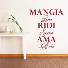 Dekobuchstaben Wohnzimmer Italienische Wandtattoos Zum Dekorieren Wall Art De