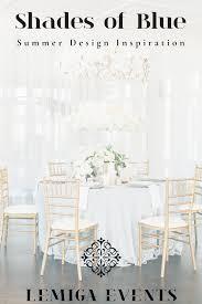Table Design Inspiration Shades Of Blue Summer Reception Design Inspiration Lemiga Events