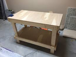 Simple Work Bench Simple 2x4 Workbench Create Your Free Maker Profile Simplecove