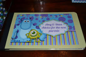 a manda creation monsters inc baby shower day 8