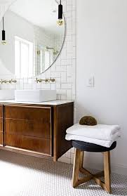 Vintage Mirrors For Bathrooms - best 25 large round wall mirror ideas on pinterest round wall