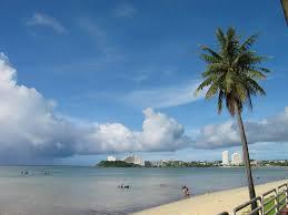 Map Of Guam Panoramio Photo Of Guam Beach