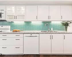 white kitchen cabinets with aqua backsplash stunning kitchen backsplashes that ll make you look