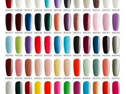 polish colors wonderful red gel nail polish color ideas nails
