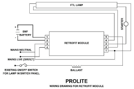 non maintained emergency lighting wiring diagram volt output