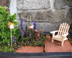 turn your balcony into your own backyard miniature garden style