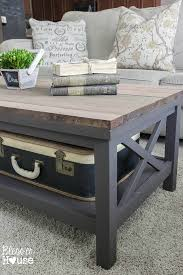 Barn Wood Coffee Table Barn Wood Top Coffee Table