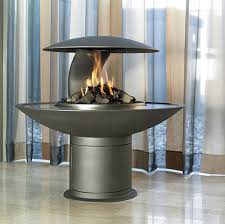 trendy gray steel stainless round fireplace flue ideas with modern