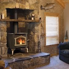 wood stove fireplace binhminh decoration